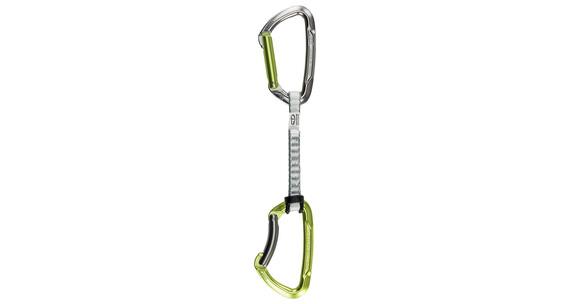 Climbing Technology Lime Set DY 12cm Express-Set Pack of 5 grå/grøn